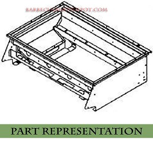 Bull Angus Grill Shell Insert Assembly